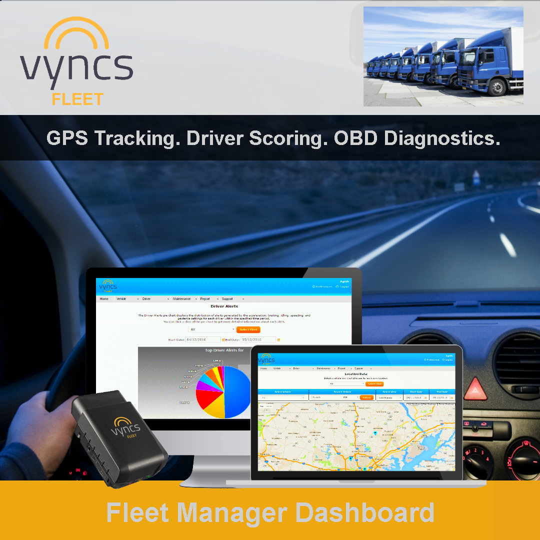 Fleet Tracking Manager Dashboard