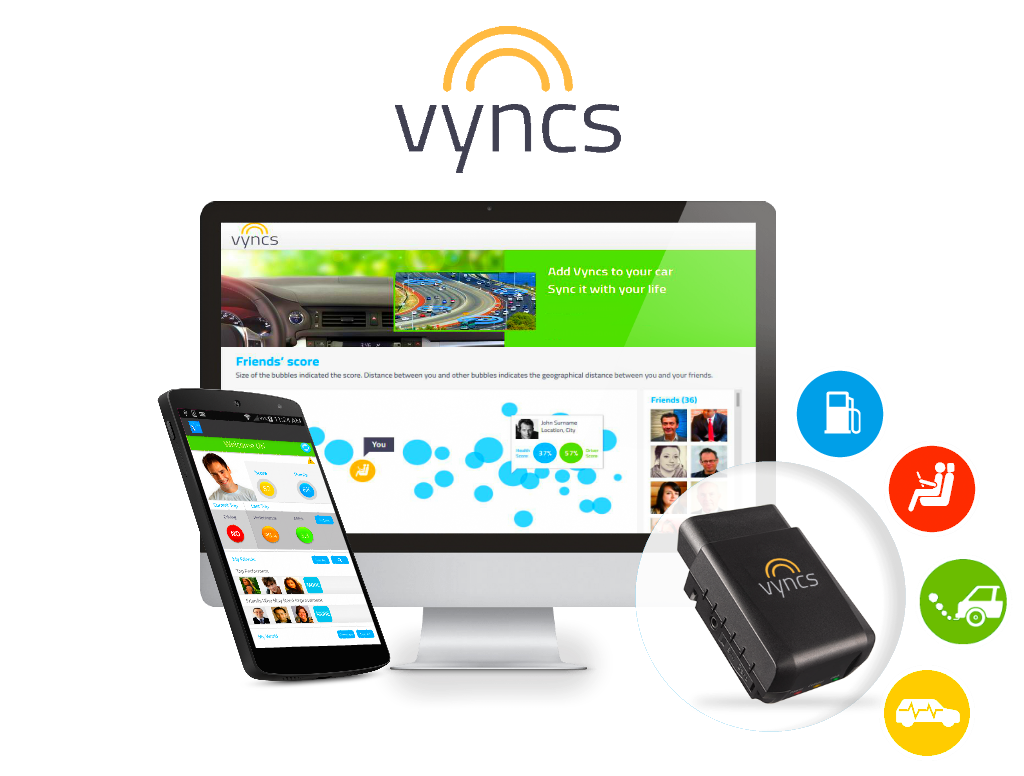 GPS tracking solution Vyncs